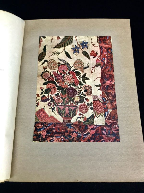 The Chintz Book By MacIver Percival - 1923 Hardcover - Antique Art Book